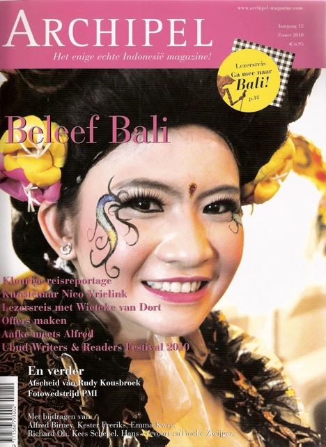 Archipel Magazine - interview Alfred Birney met Aafke de Jong Balinese dans