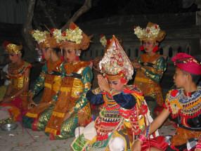 DwiBhumi Bali Balinese dans Arma Museum Ramai