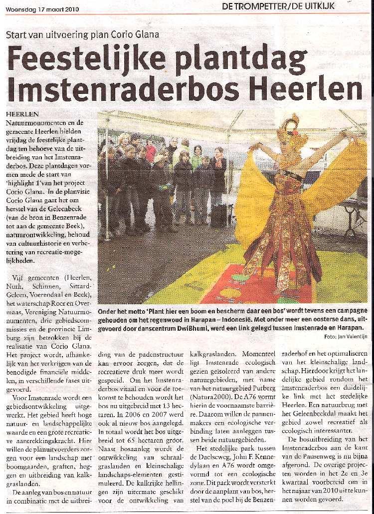 DwiBhumi Balinese dans Natuurmonumenten Cendrawasih