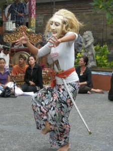 Kapitein Tack Legong Untung Surapati Guruh Sukarnoputra Balinese dans