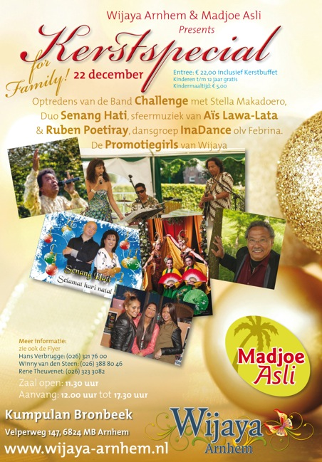 Kerstspecial Wijaya Arnhem 22 december 2012 Balinese dans