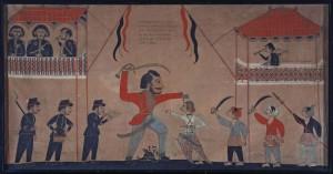 Surapati verslaat Tack - Tropenmuseum - VOC - Legong - Guruh Sukarnoputra - DwiBhumi Balinese dans