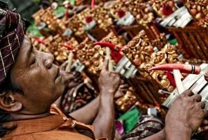 Balinese gamelan angklung Wereldmuziekschool Amsterdam Clara de Mik DwiBhumi Balinese dans