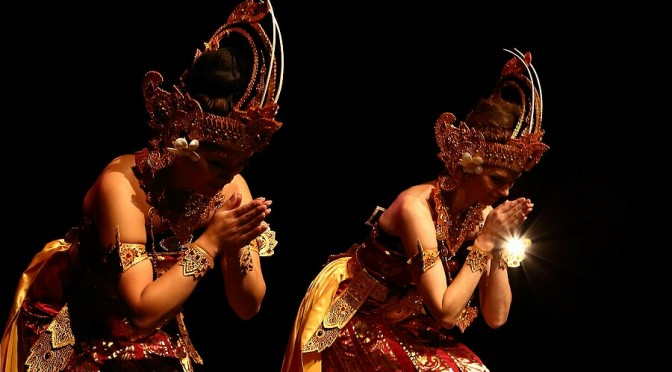 Entertainment: Balinese dans en gamelanoptredens
