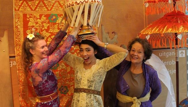 Workshop Bali voor het hele gezin in Museum Coda Apeldoorn zondag 11 januari 2015