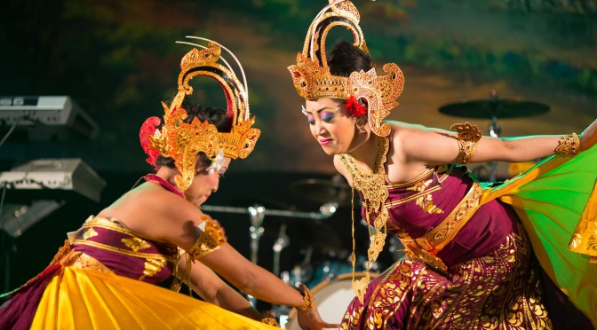 Optreden Balinese dans @ Holland Casino Rotterdam met Sandra Reemer 27 januari