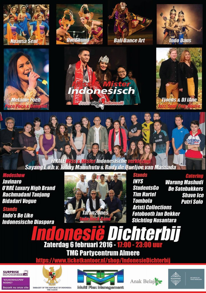 Miss en mr Indonesisch Verkiezing 2016 DwiBhumi Balinese dans