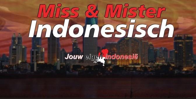 zaterdag 6 februari optreden en stand DwiBhumi @ Miss en Mr Indonesisch Verkiezing in Almere