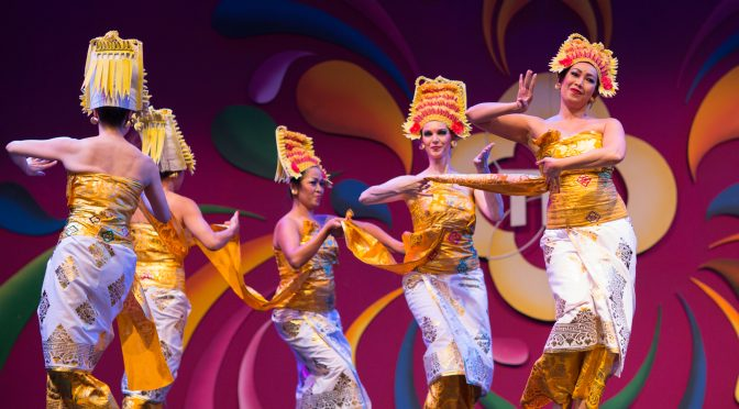 Balinees dansfeest tijdens de Tong Tong Fair 2017