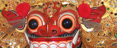 Barong DwiBhumi Balinese dans