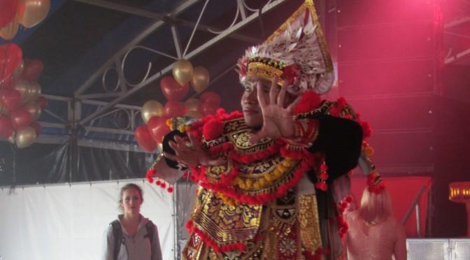 Baris Tunggal – Balinese krijgsdans
