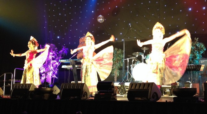 Terugblik Balinese dansgroep DwiBhumi Pasar Malam Bali 2015