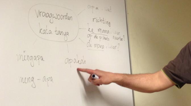 Inschrijven kan al: nieuwe cursus Bahasa Indonesia begint op dinsdag 2 februari in Den Haag